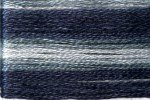 8070 Cosmo Seasons Variegated Embroidery Floss Black/Grey