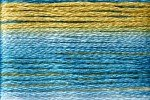 8076 Cosmo Seasons Variegated Embroidery Floss Blues/Tan