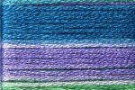 8079 Cosmo Seasons Variegated Embroidery Floss Teal/Lavender/Green