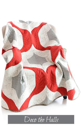 Sew kind of Wondeful - Jenny Pedigo - Deco The Halls Quilt Pattern