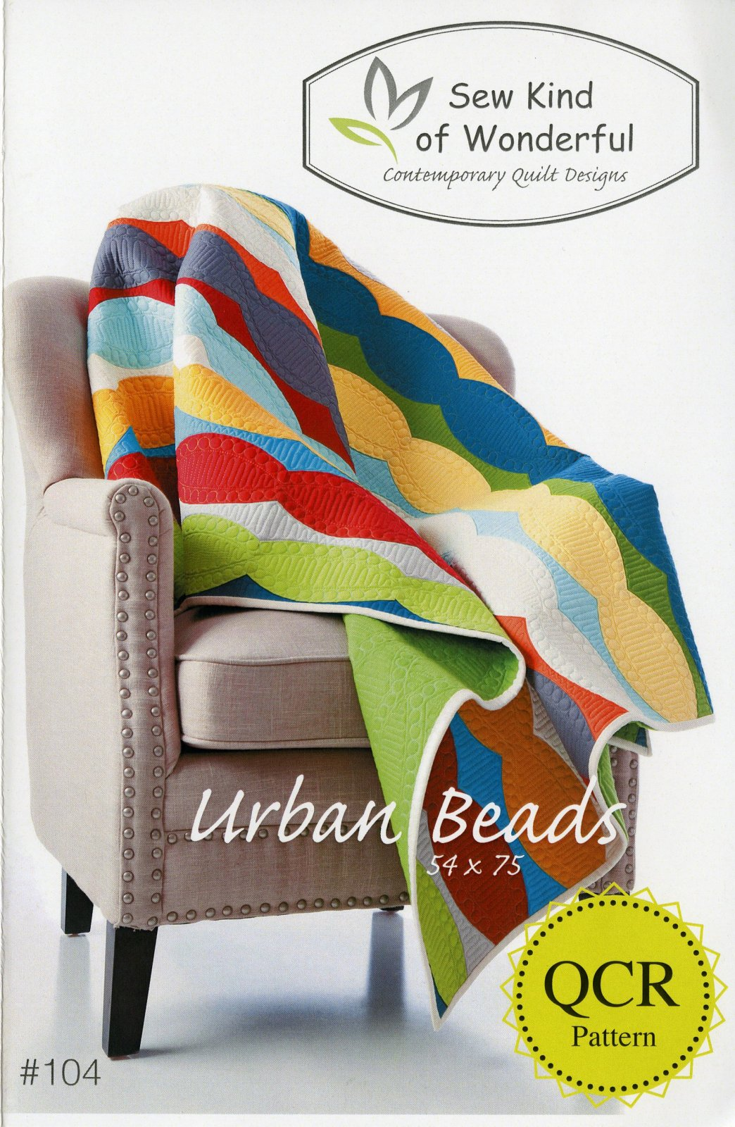 Sew Kind of Wonderful - Jenny Pedigo - Urban Beads Quilt Pattern
