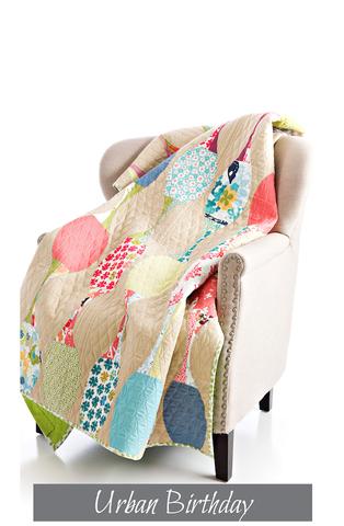 Sew Kind of Wonderful - Jenny Pedigo - Urban Birthday Quilt Pattern