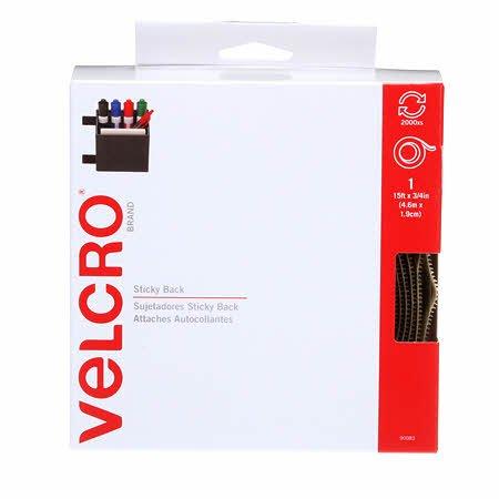 Velcro - Sticky Back - Beige - 3/4 x 5 yds