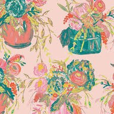 Art Gallery Fabrics - Wild Bloom - Still Life Sweet