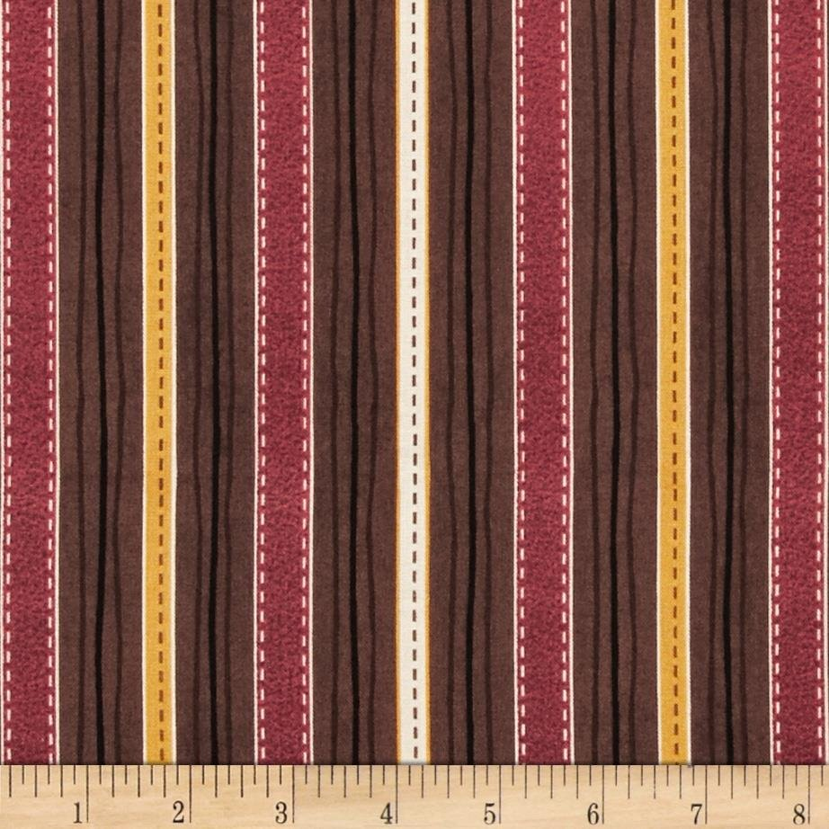 Quilting Treasures - Classic Indian - Stripe