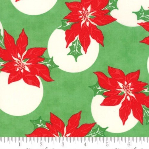 Moda - Urban Chiks - Swell Christmas - Holly - Green