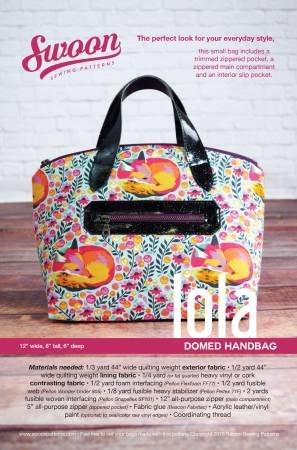 Swoon Sewing Patterns - Lola - Domed Handbag