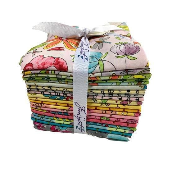 Freespirit - The Dress - Laura Heine - Fat Quarter Bundle - 20 Peice