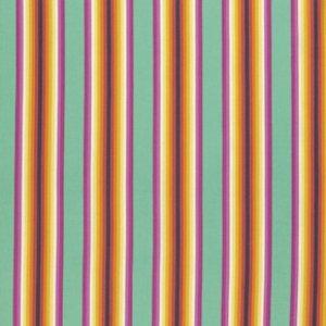 Free Spirit - Tula Pink - Chipper - Tick Tock Stripe - Sorbet