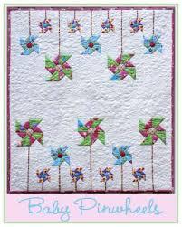 Baby Pinwheels Quilt Kit