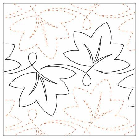 Quilting Elements - Grapevine - Tear Away - 6.5  Wide Pattern
