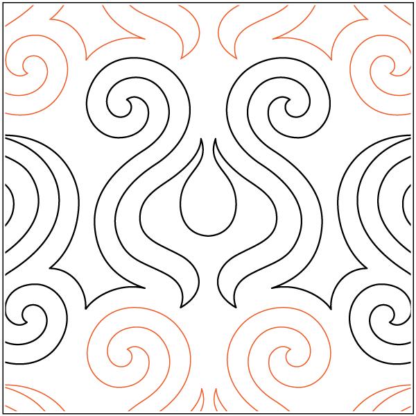 Urban Elementz- Pantograph - Volta (9 wide pattern)
