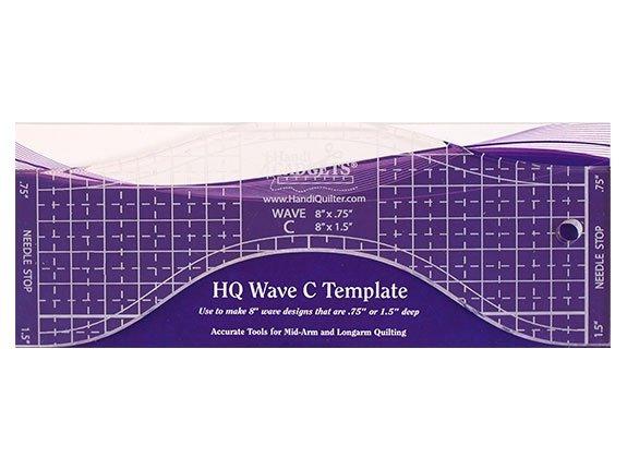 HQ - Ruler Wave C - 8 Template