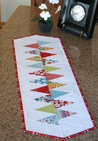 Cut Loose Press - Winding Road table Runner - 14 1/2 x 47 1/2