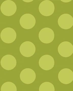 Benartex Large Lime Dot 02874-40