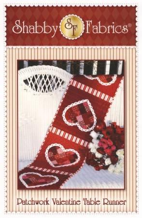 Shabby Fabrics Patchwork Valentine Table Runner