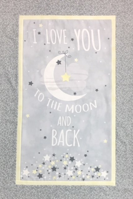 To the Moon and Back Flannel Quilt Kit