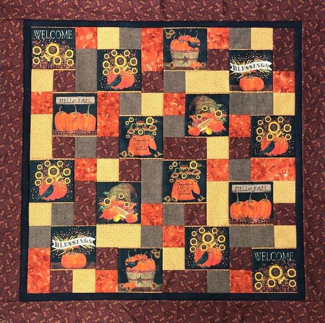 Fall Take 5 Quilt Kit 45 x 45