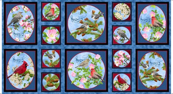 Songs of Nature by Quilting Treasures