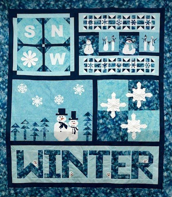 Winter Sampler Quilt