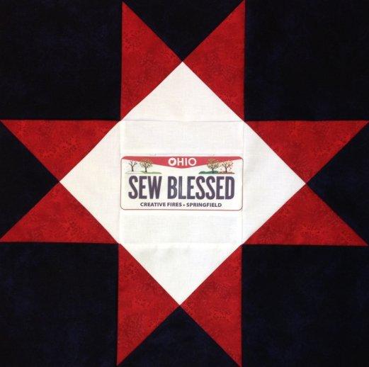 Sew Blessed Ohio Star