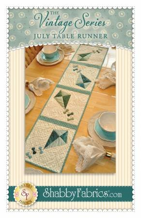 Shabby Fabrics Vintage Series July Kites Table Runner