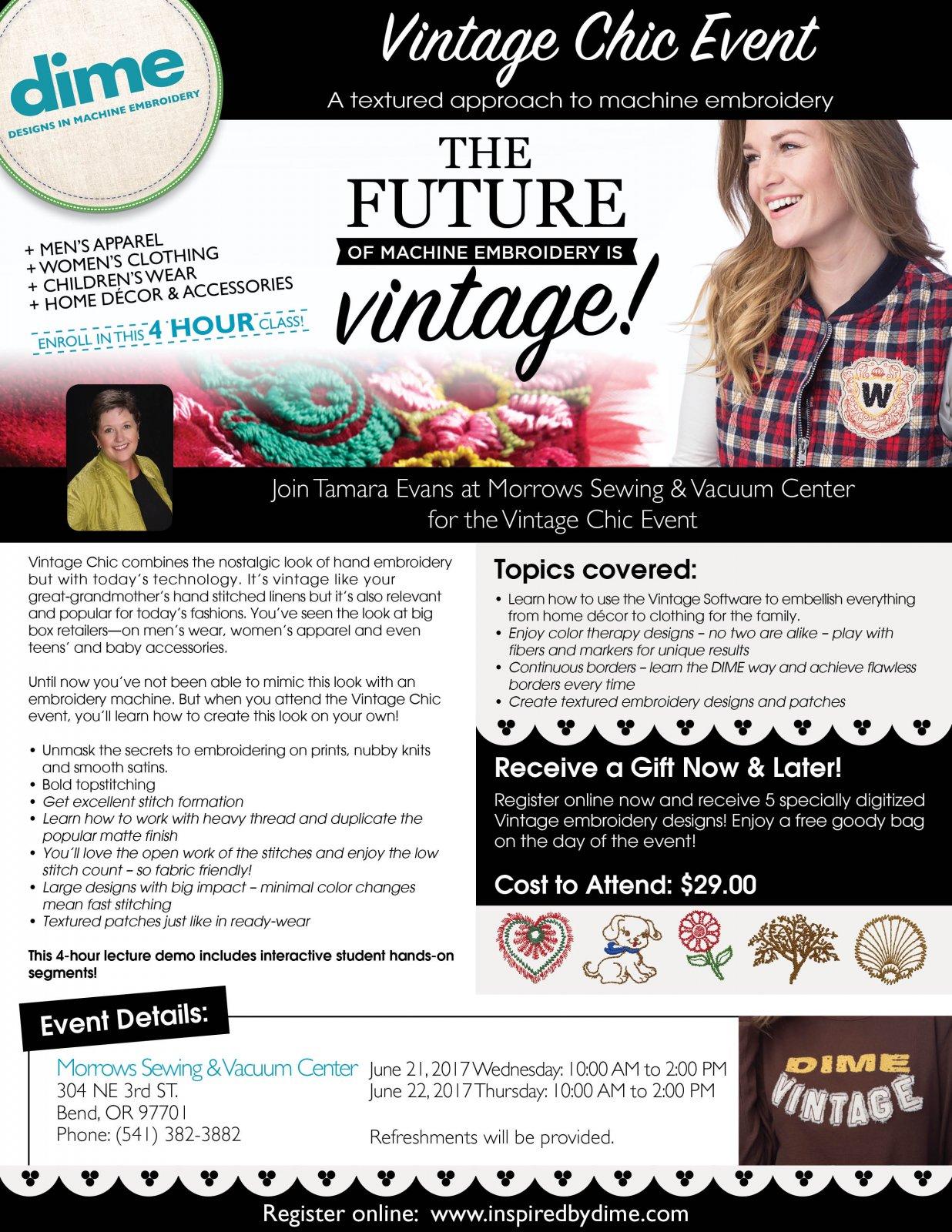 DiME Vintage Chic Event