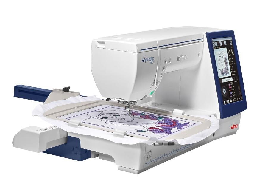 MACHINE-ELNA-EXPRESSIVE 920 EMBROIDERY/SEWING MACHINE