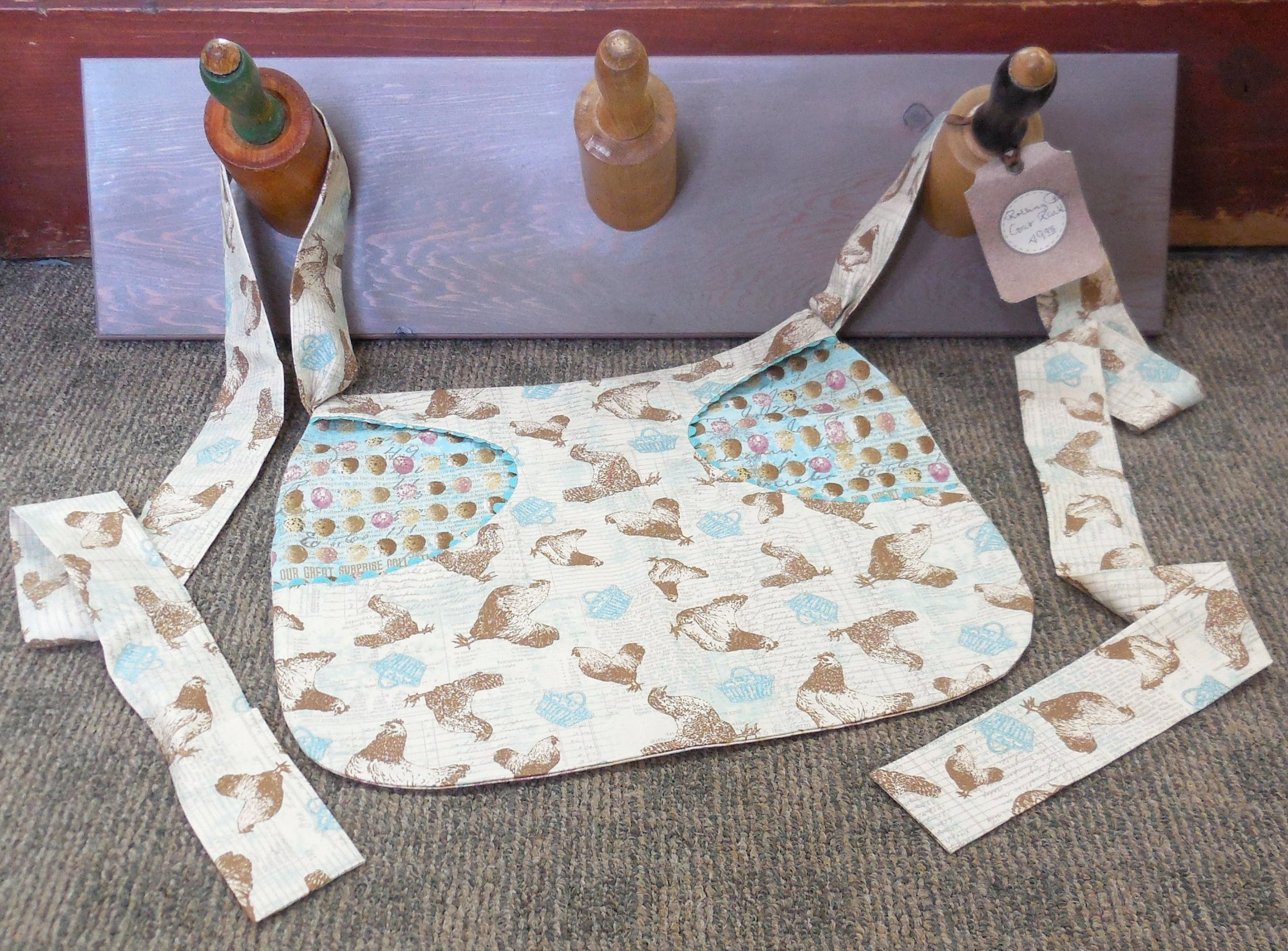 'Once Upon A Chicken' Clothespin Apron Kit