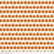 Fab-Boo-Lous by Riley Blake - Pumpkins on Cream