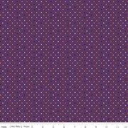 Fab-Boo-Lous by Riley Blake - Purple w/diamonds