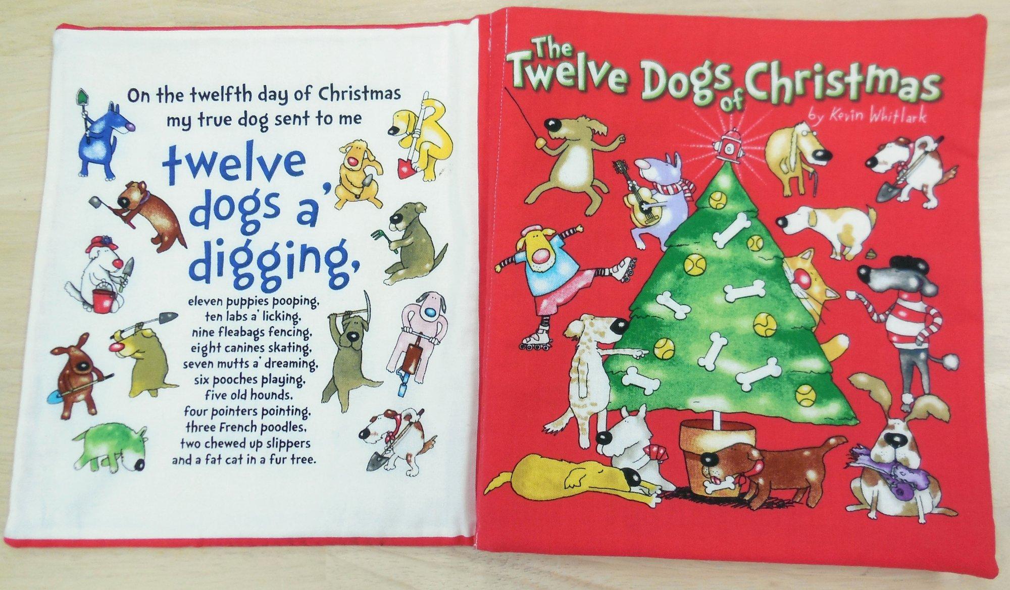 12 Dogs Of Christmas.12 Dogs Of Christmas Book Panel