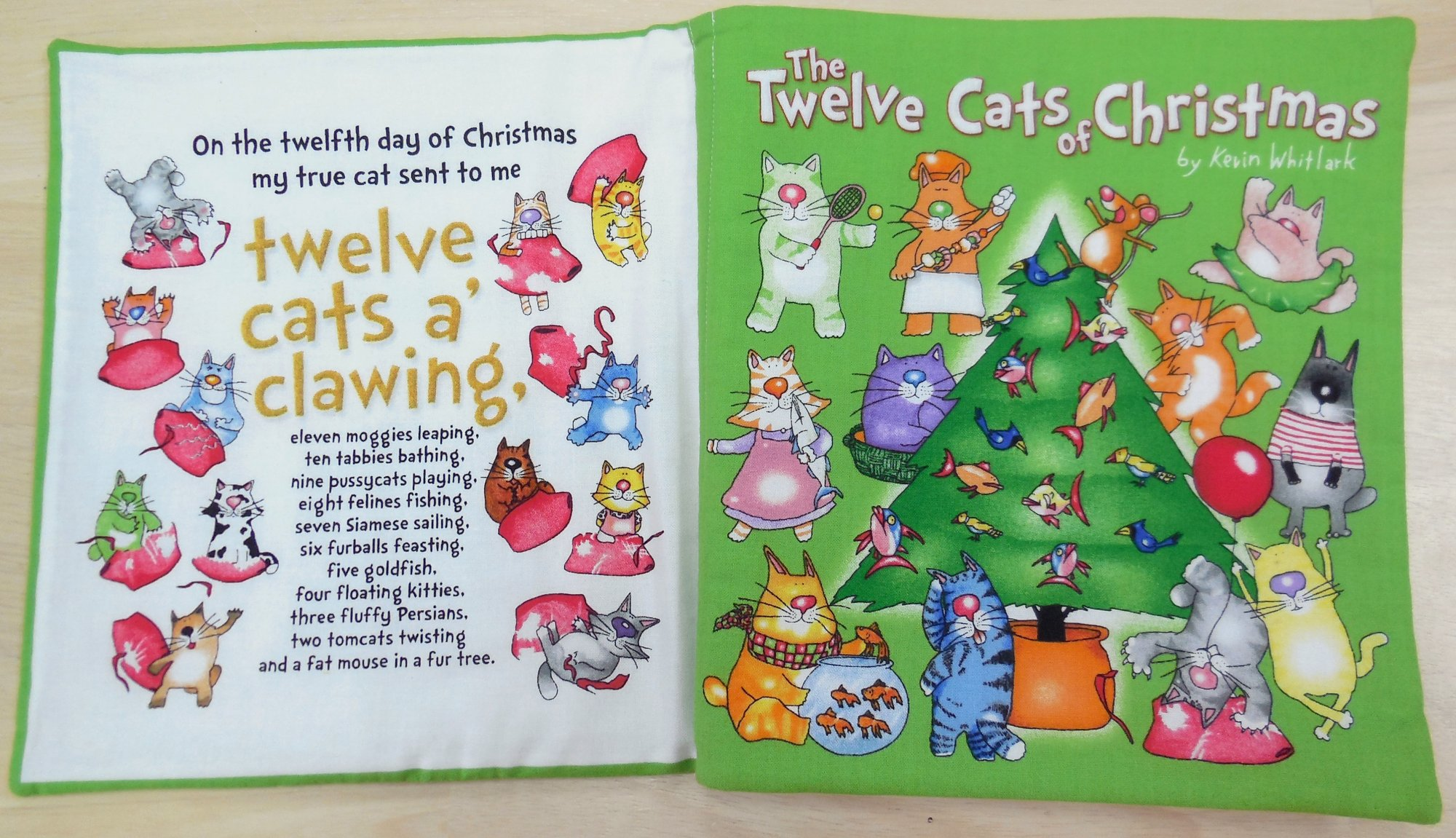12 Cats of Christmas - Book Panel