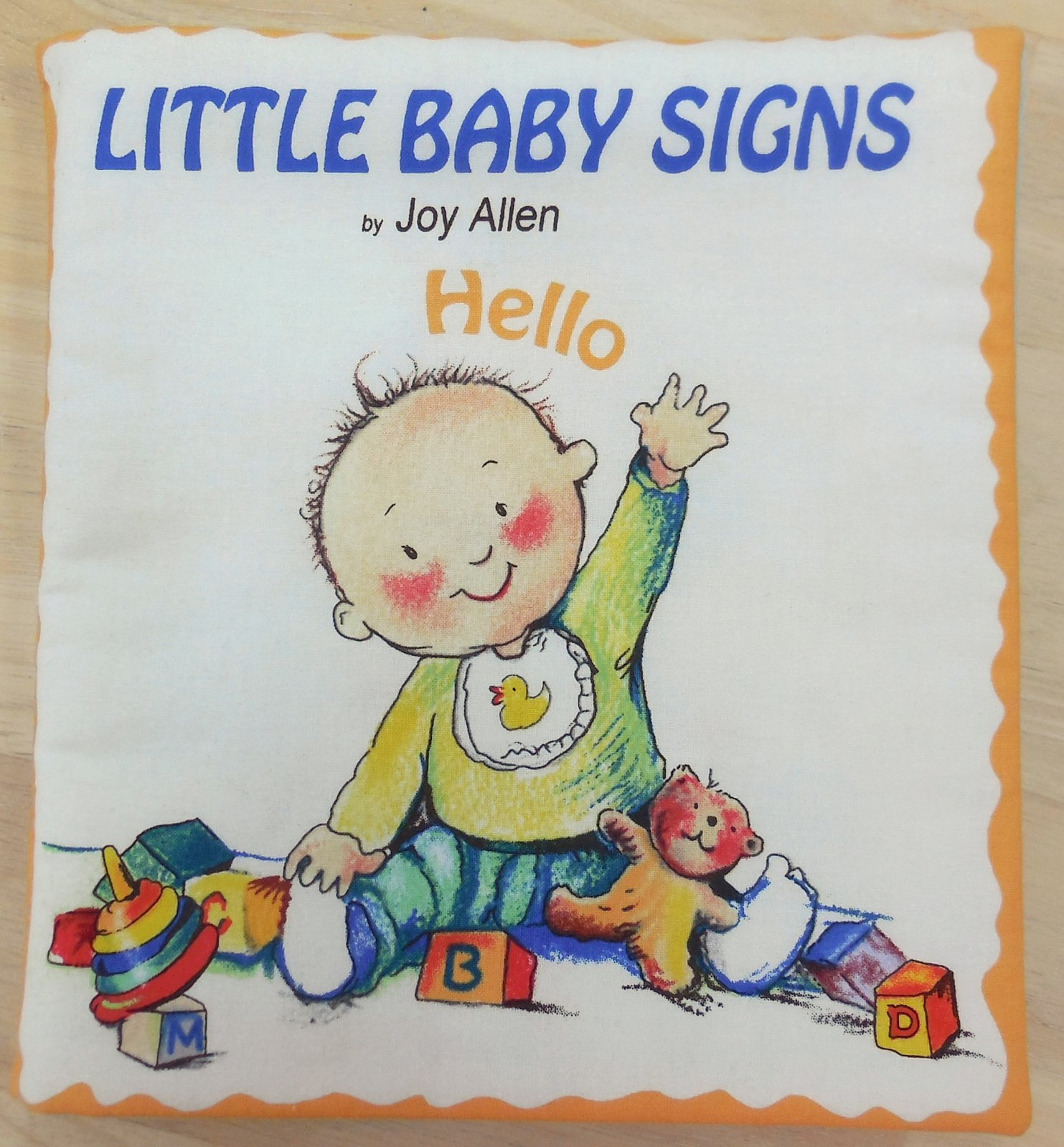 Little Baby Signs - Book Panel