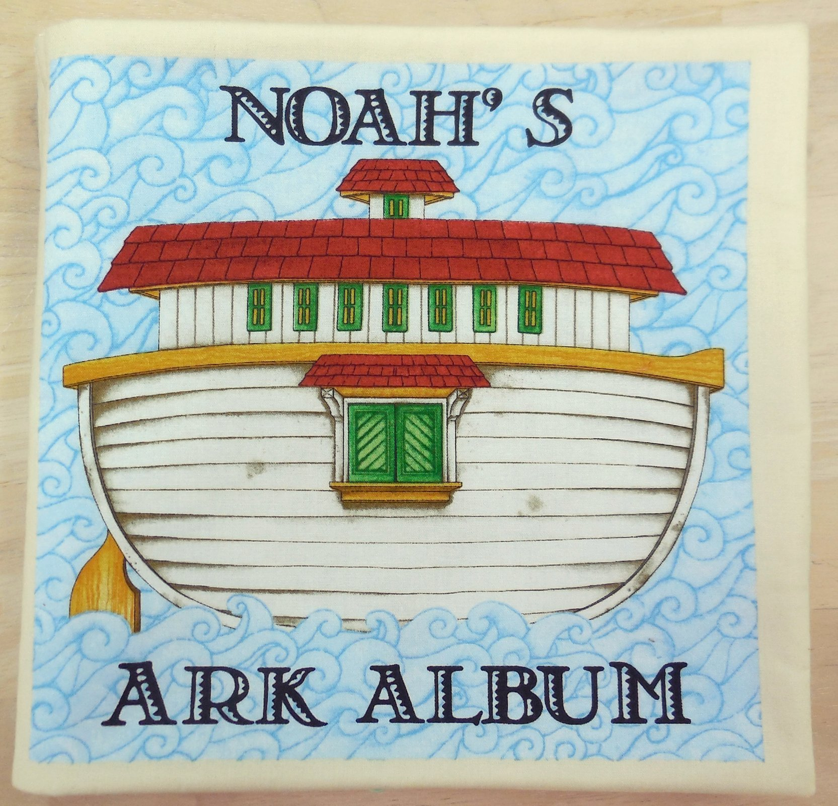 Noah's Ark Album - Book Panel