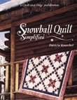 Snowball Quilt Simplified QIAD