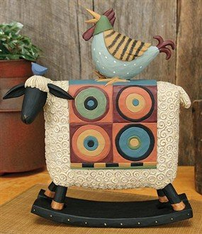 Chicken on Rocking Sheep
