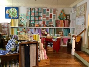 Kids quilts and fabrics quilting shop Sewing Basket Plymouth WI