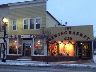 Fabric store and quilt shop Sewing Basket Sheboygan County Plymouth WI