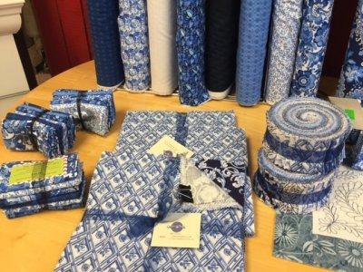 China Blue by Benartex strip set jelly roll