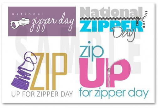 Zippers on sale at The Sewing Basket