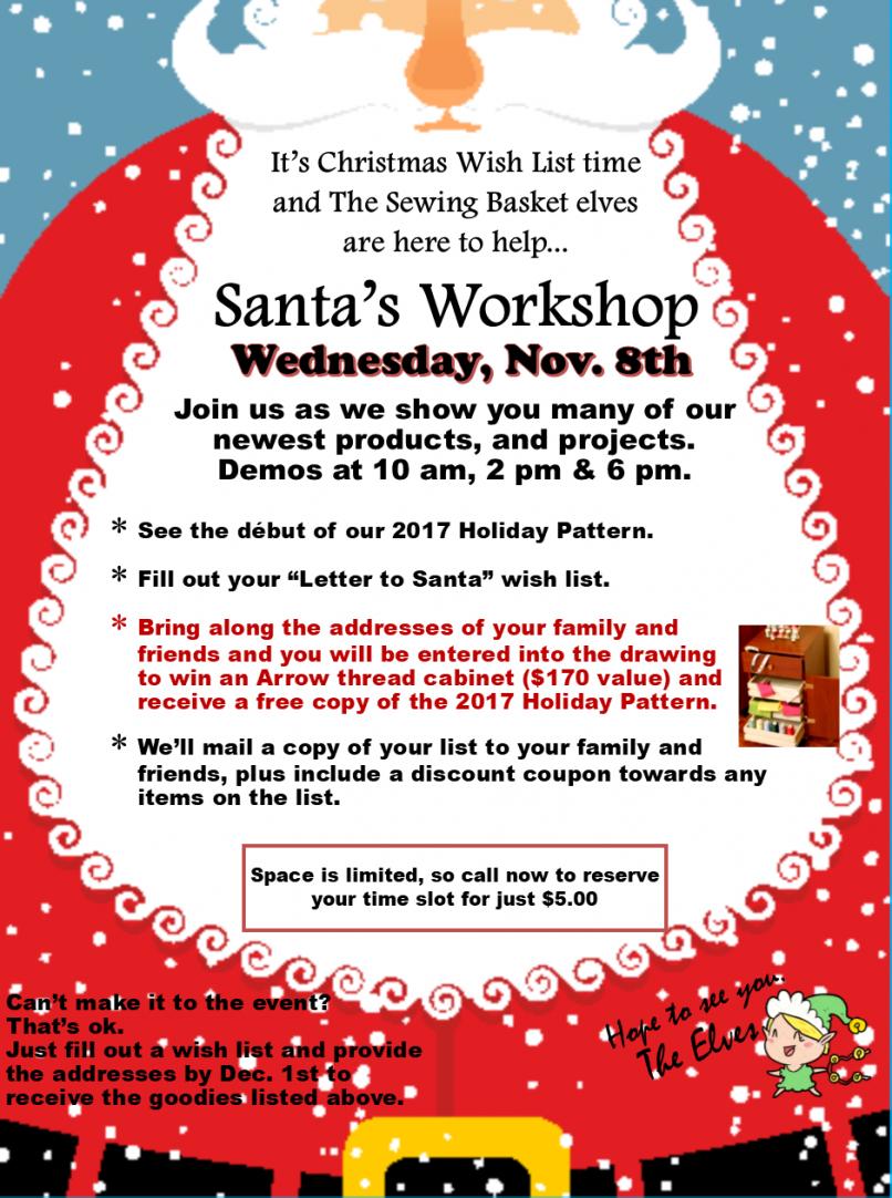 Santa's Workshop Demos