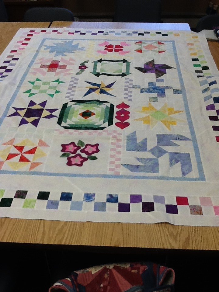 Quilting BOM Class The Sewing Basket Plymouth WI Original design