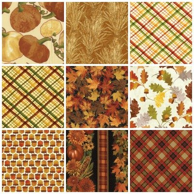 Fall quilting fabric by QT Fabrics