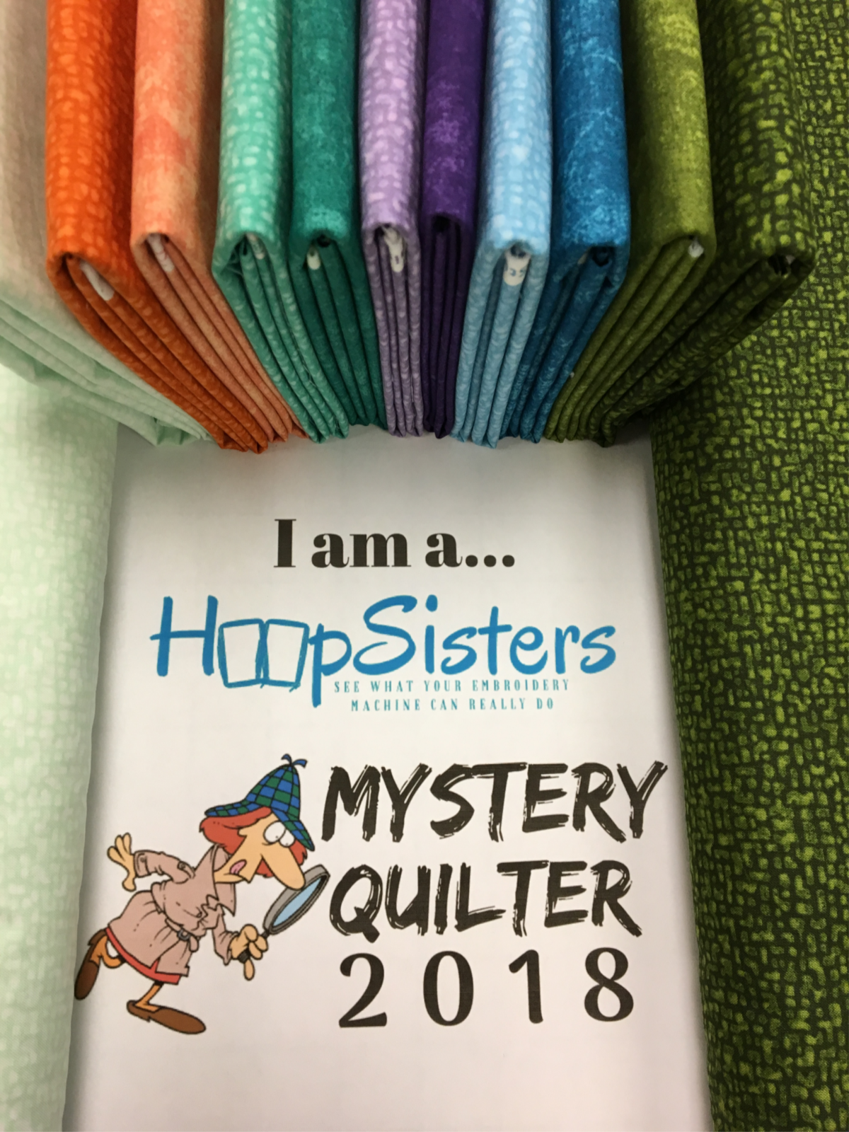 Hoopsisters Mystery quilt