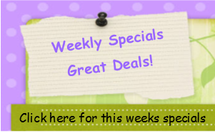 Weekly Specials and Great Deals