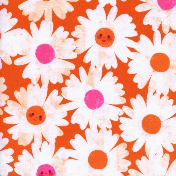Trinket Happy Garden Orange by Melody Miller Cotton + Steel