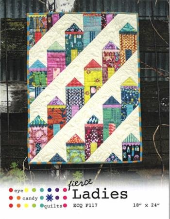 Fierce Ladies Mini Quilt