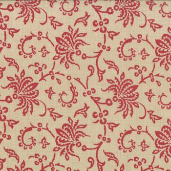 Chateau Rouge Floral Laurette Tan Pearl 13622 16