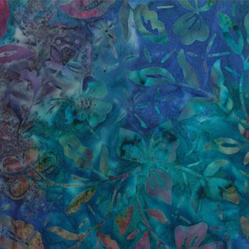 Kapalua Batik Deep Ocean Blue/Purple